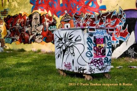 Graffiti à Chambéry