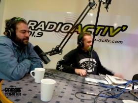 Tarek à la radio
