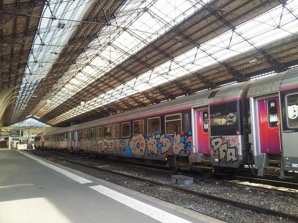 Trains en gare d austerlitz paris paris tonkar magazine for Train tours paris austerlitz