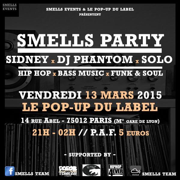 SMELLS DJs PARTY PARIS