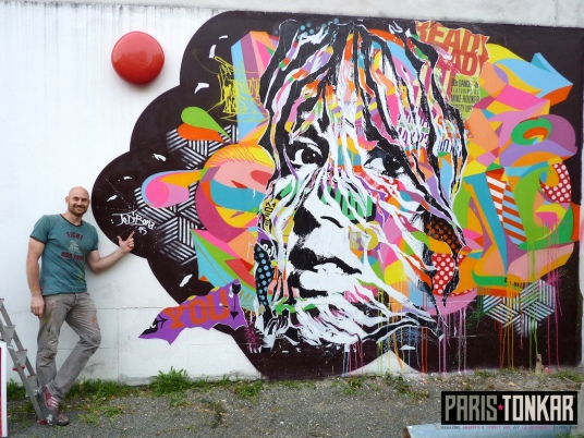 Utopies Urbaines : live painting
