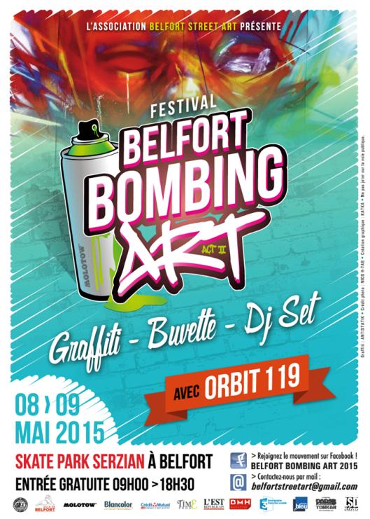 Festival BELFORT BOMBING ART (act II)
