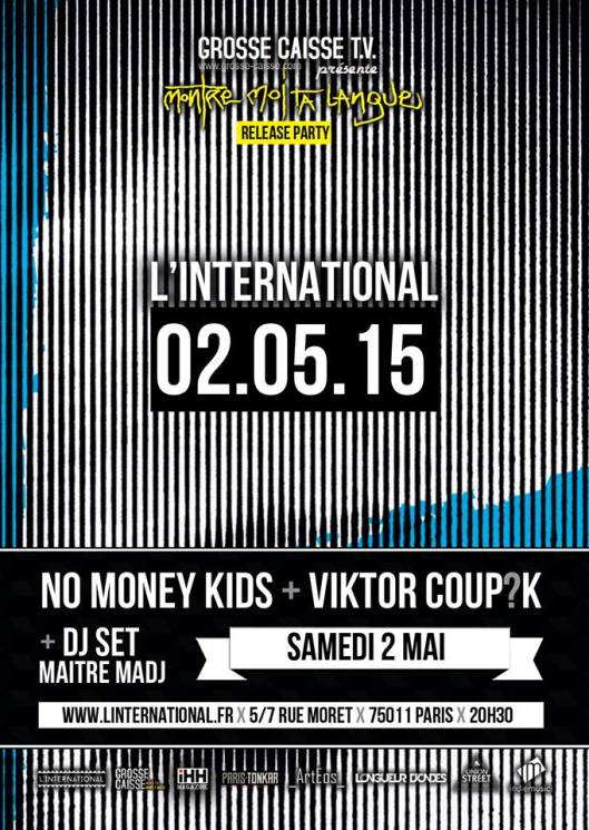Release Party du nouvel EP de Viktor Coup?K & son band
