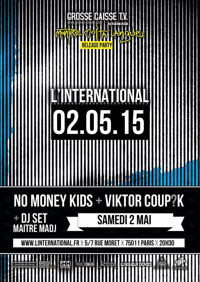 Release Party du nouvel EP de Viktor Coup?K & son band
