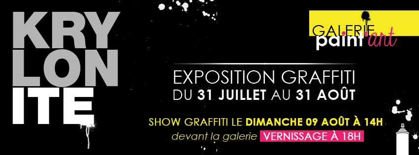 "Exposition Graffiti ""Krylonite"""