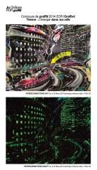 Le street art s'invite à l'espace EDF Bazacle à Toulouse