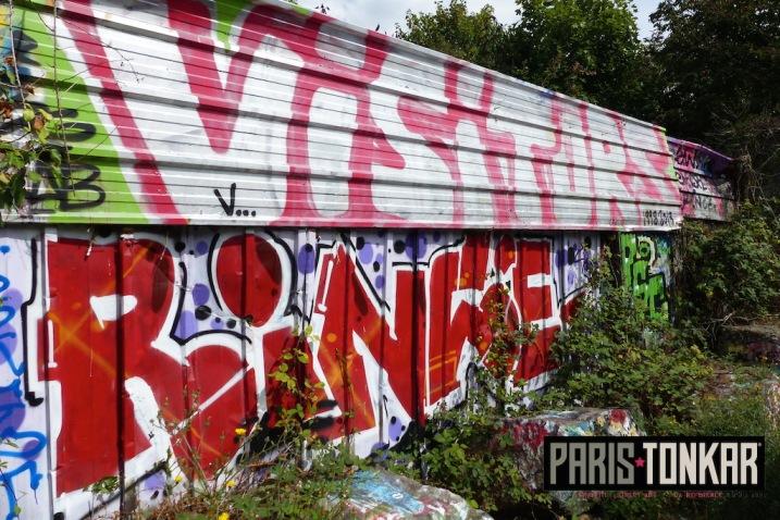 Canal Saint-Martin à Rennes, juillet 2015
