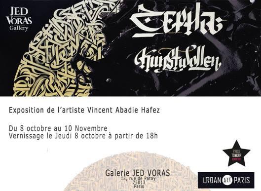 Exposition Vincent Abadie Hafez - Kunstwollen