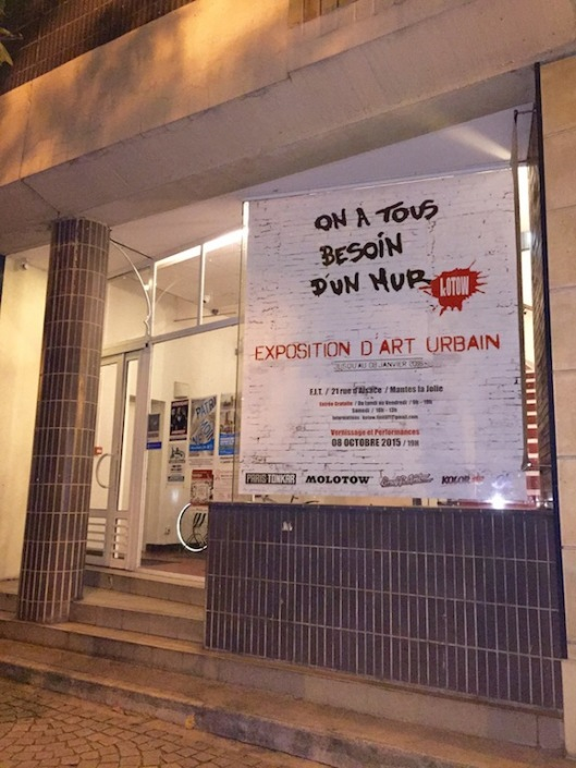 Exposition d'art urbain Kotow