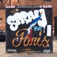 #sprayforParis