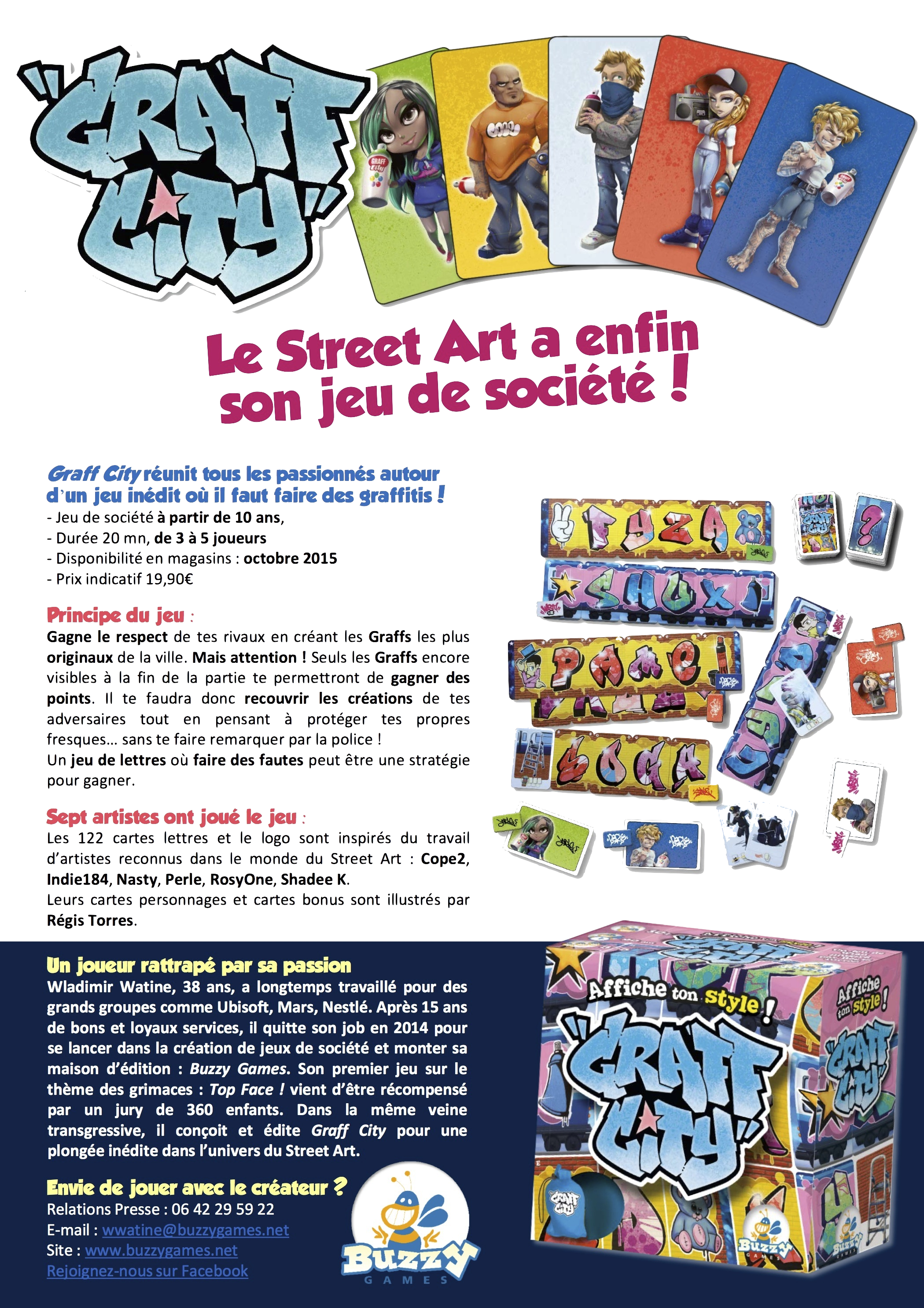 Relativ Le jeu graff city est disponible ! | Paris Tonkar magazine OX58
