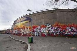Graffiti à Prague