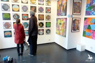 Reportage sur l'exposition Newarty's au 59 Rivoli