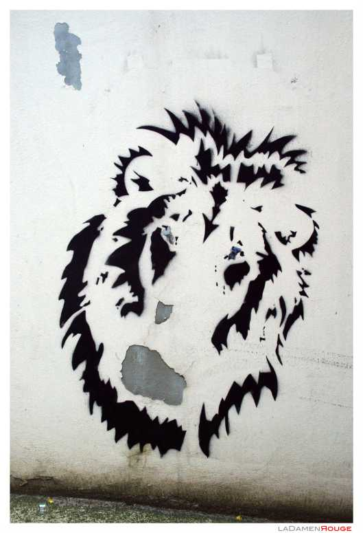 lion wall art 2