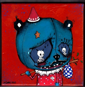 toile 20x20 panda clown 72dpi