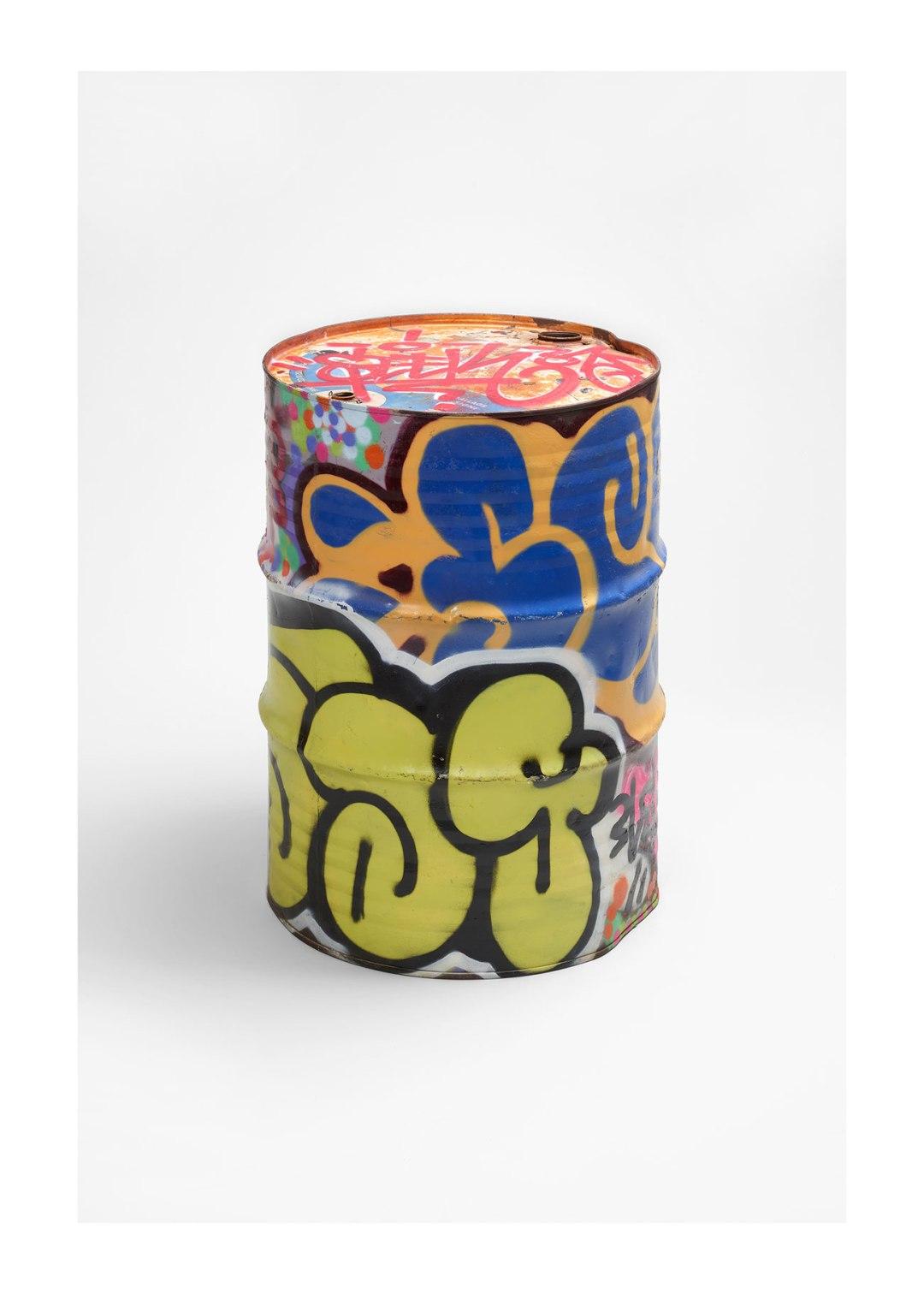 Seek baril graffe (c) photo Mucem, Yves Inchierman