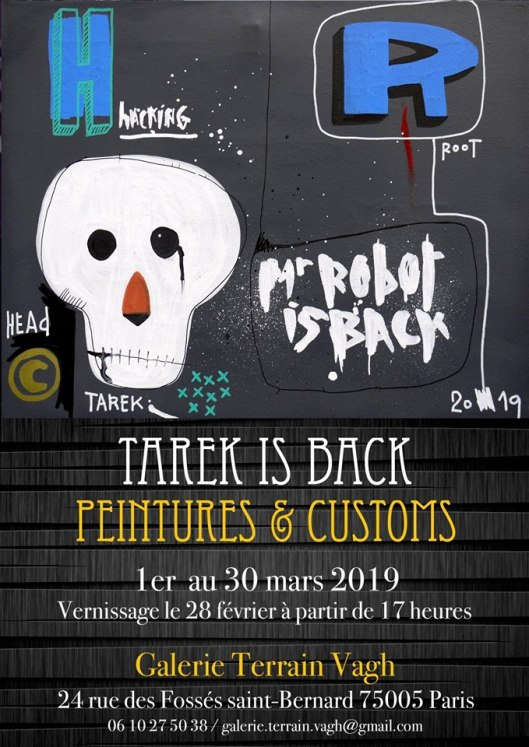 "Exposition ""Tarek is Back"""