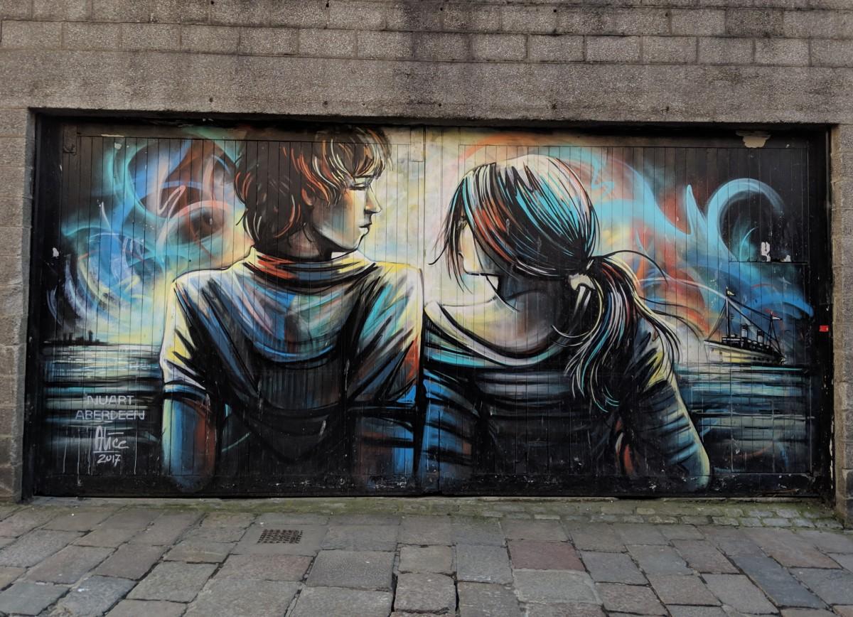 Le plus grand festival d'art urbain en Ecosse: Nuart Aberdeen 2019