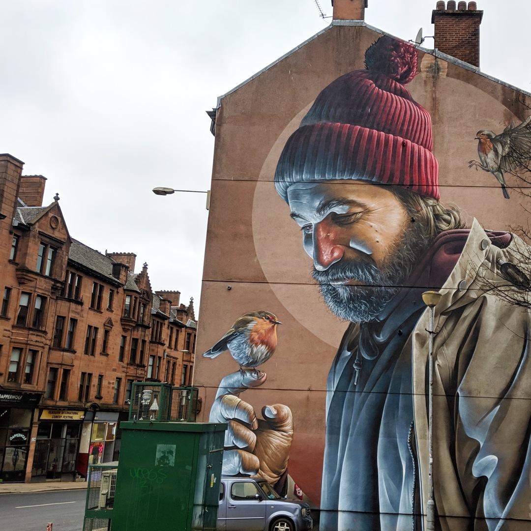 SMUG Glasgow mural