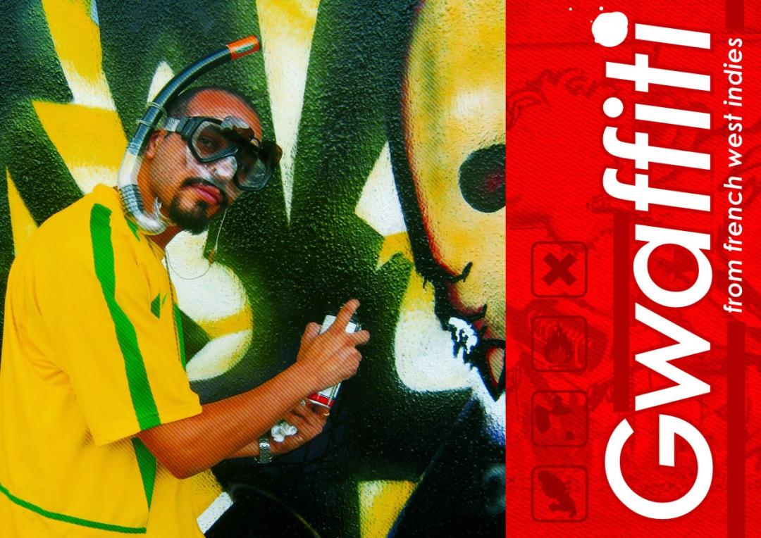 """""""GWAFFITI"""", la mémoire du graffiti aux Antilles"""