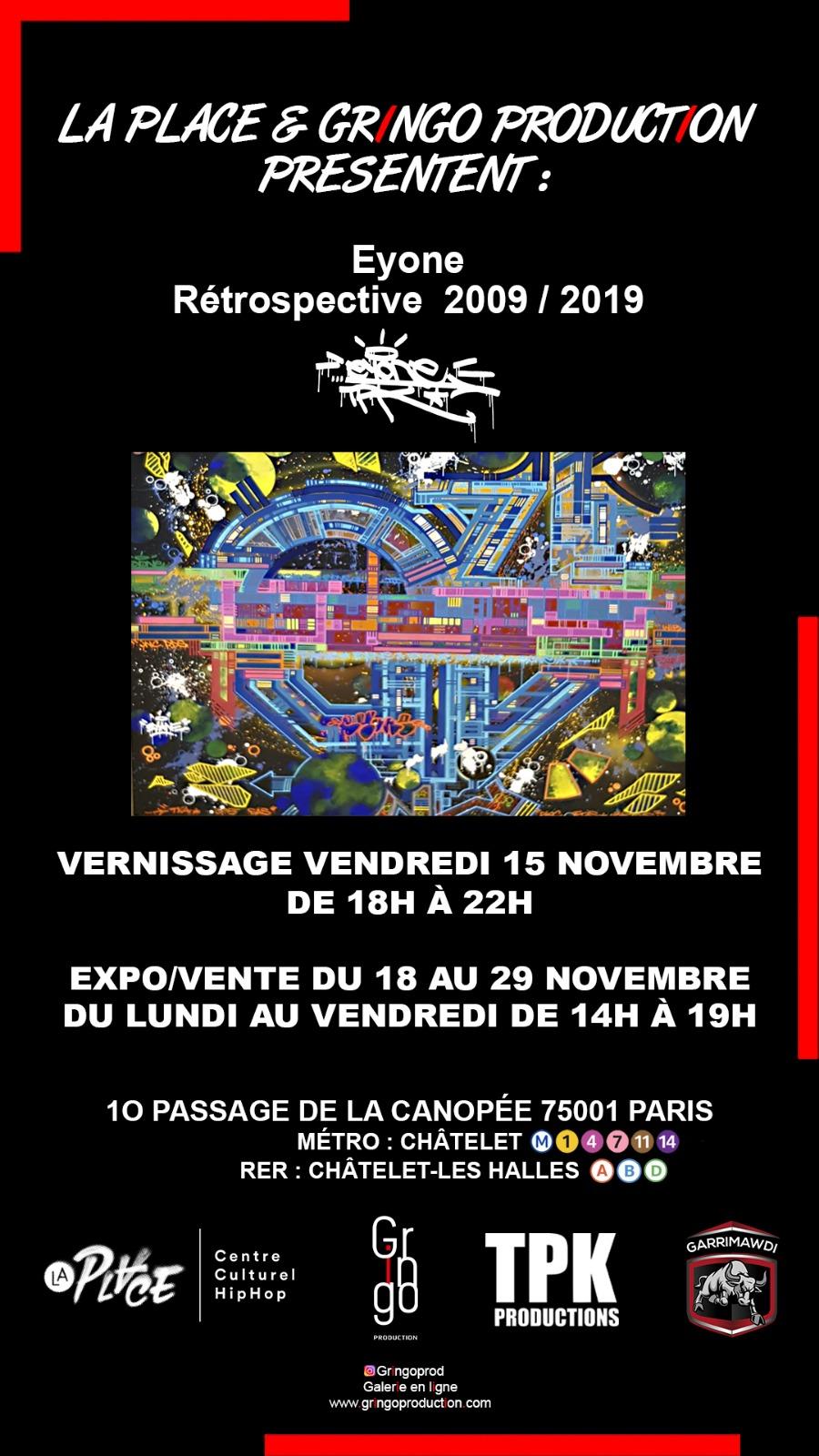 Affiche La Place Eyone